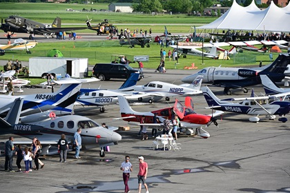 Our list of must do's for the Aircraft Owners and Pilots Association Fly-In  June 19-20, 2020