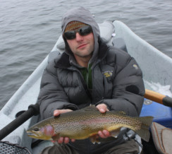 Winter Fly Fishing On Grey Reef